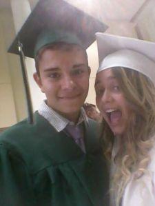 Lukas US Graduation Pix